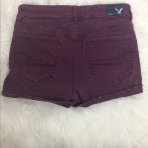 American eagle Outfitters Hi Rise Shorts Denim 4
